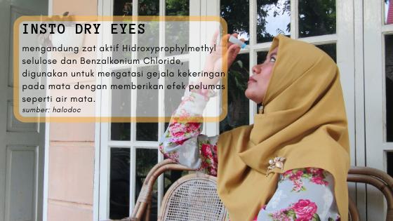 Atasi Mata Kering dengan Insto Dry Eyes