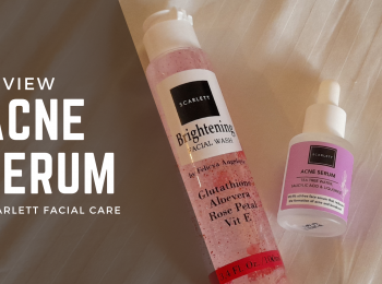 Review Acne Serum Scarlett